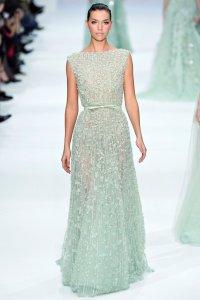 Зеленое платье от Elie Saab