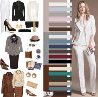 Цветовая гамма делового стиля