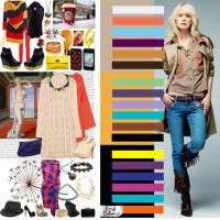 Цветовая гамма творческого стиля