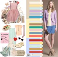 Цветовая гамма романтического стиля