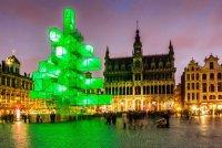 Рождественская «елка» в Брюсселе
