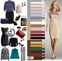 Цветовая гамма классического стиля