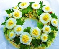 Салат «Ромашки»