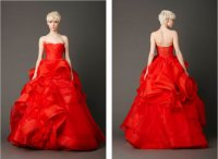 Свадебное платье от Веры Вонг: А-силуэт