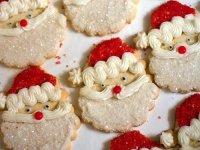Рождественское имбирное печенье «Санта»