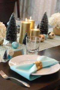 Украшение дома к Новому году по фэн-шуй: праздничный стол