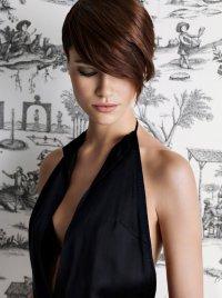 Стильная укладка для коротких волос