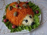 Салат «Ежик»