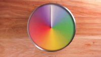 Оригинальные часы-календарь от Kickstarter