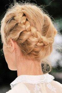 Круговая коса (коса вкруговую)