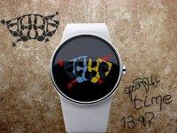 Концепт граффити-часов от Andy Kurovets