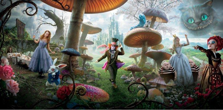 Готовится продолжение «Алисы в Стране чудес»