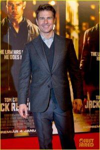 Том Круз на стокгольмской премьере фильма «Джек Ричер»