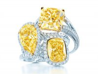 Коллекция желтых бриллиантов от Tiffany