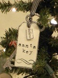 Игрушка на елку: «Ключ Санты»