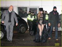 Леди Гага в аэропорту Внуково