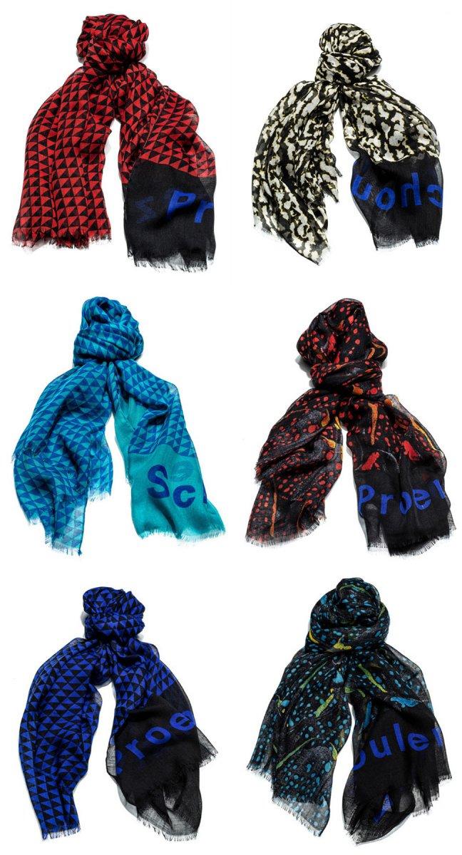 Первая коллекция шарфов Proenza Schouler