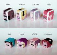 Забавные виниловые наклейки Whooz для гаджетов от Apple