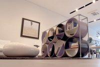 Шкаф для книг и вина от Capolinea Design