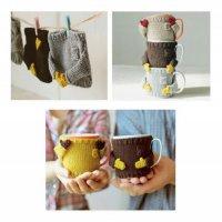 Симпатичные свитерки для чашек