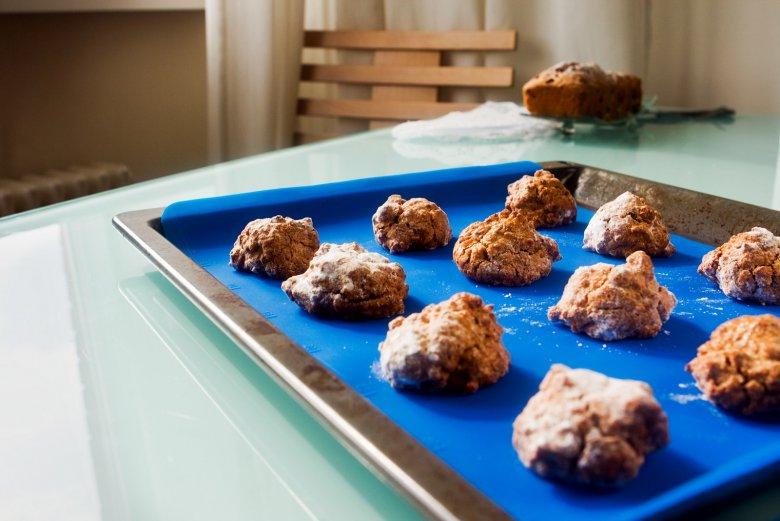 Кухонный инвентарь: кулинарный силиконовый коврик