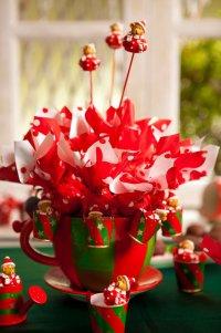Новогодний топиарий из конфет