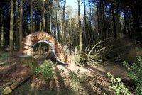 Креативная органическая скульптура Pendle Sculpture Trail от Philippe Handford