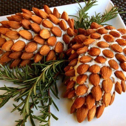 Новогодний салат «Сосновая шишка»