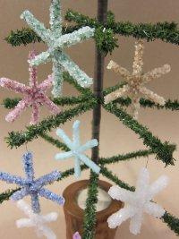Кристальные снежинки на Новый год