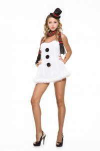 Костюмы на Новый год: снеговик