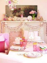 Новый год в розовом цвете