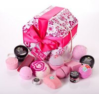 Подарочный новогодний набор Lush Think Pink