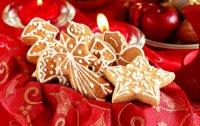 Рождественское печенье в подарок на Новый год