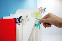Студия Dcell  представляет серию креативных закладок Jungle Bookmark