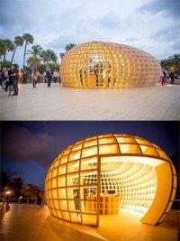 Guiro Art Bar Installation: креативный бар-инсталляция от Los Carpinteros