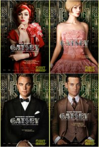 Новые постеры к фильму «Великий Гэтсби»