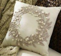 Новогодняя диванная подушечка