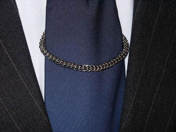Аксессуары для галстука: цепочка для галстука
