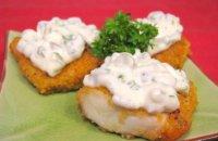 Блюдо на Новый год: рыба под соусом тартар
