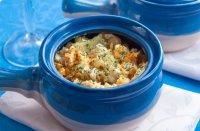 Блюдо на Новый год: горшочки с рыбой и картофелем