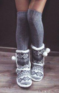 «Эскимосские сапоги»: теплое решение на зиму