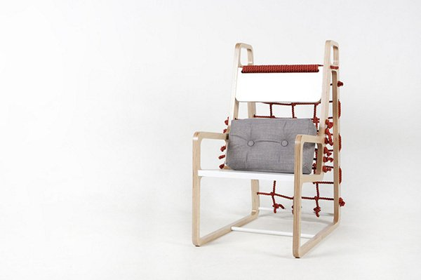 Дизайнерский стул Abooba Chair от Jaewook Kim