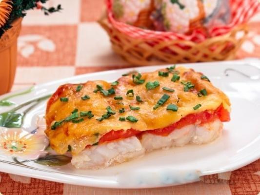 Блюдо на Новый год: рыба  «Мечта»