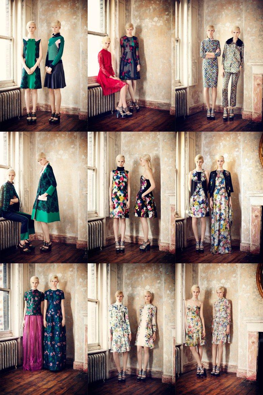Коллекция Erdem Pre-Fall 2013
