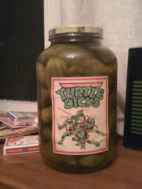 Маринованные огурцы Turtle Dicks