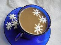 Новогодние съедобные снежинки