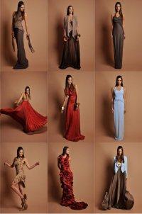 Коллекция платьев Anastasia Lomonova весна-лето 2013