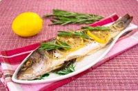 Блюдо на Новый год: рыба с розмарином