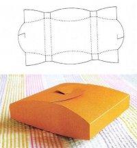 Коробочки для подарков своими руками: прямоугольник