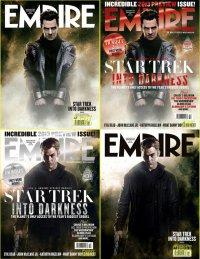 Крис Пайн и Бенедикт Камбербэтч на обложке журнала Empire